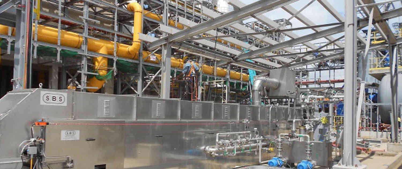 Sulphur Solidification - Sulphur Forming- Rafinery- Steel Belt Systems
