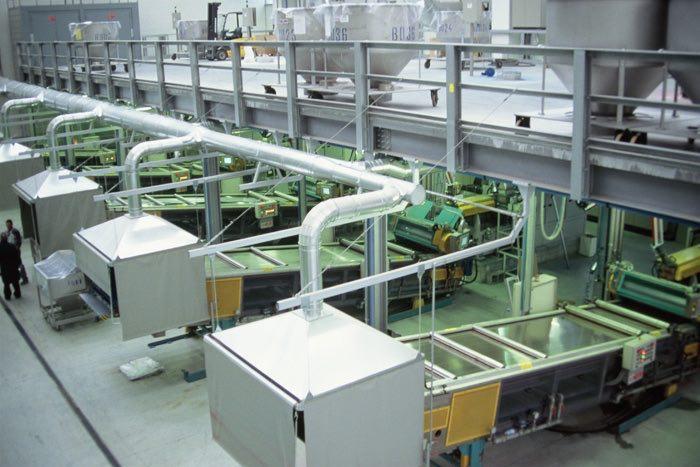 SBS Steel Belt Systems Powder Coatings Plant Manufacturer
