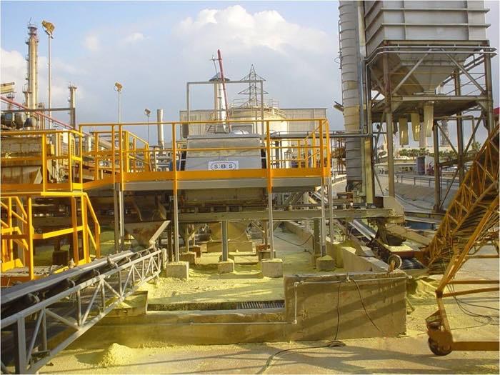 Sulphur Solidification Plants Manufacturer