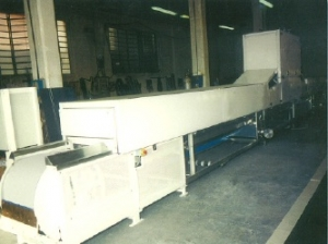 Single Cooling Conveyor for nougat
