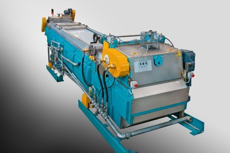 Cooling Conveyor SBS Steel Belt Systems