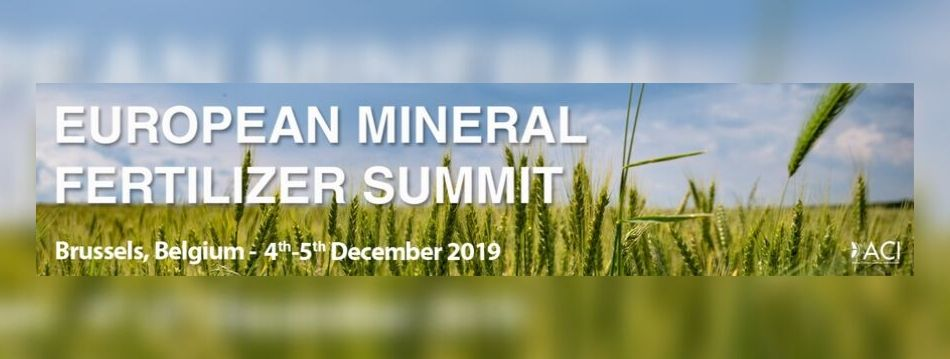 European Mineral Fertilizer Summit 2019 - SBS