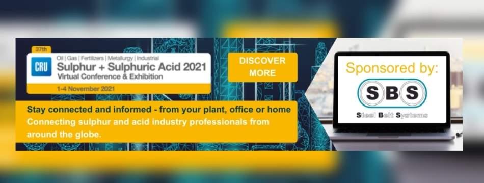 Sulphur + Sulphuric Acid 2021 Conference